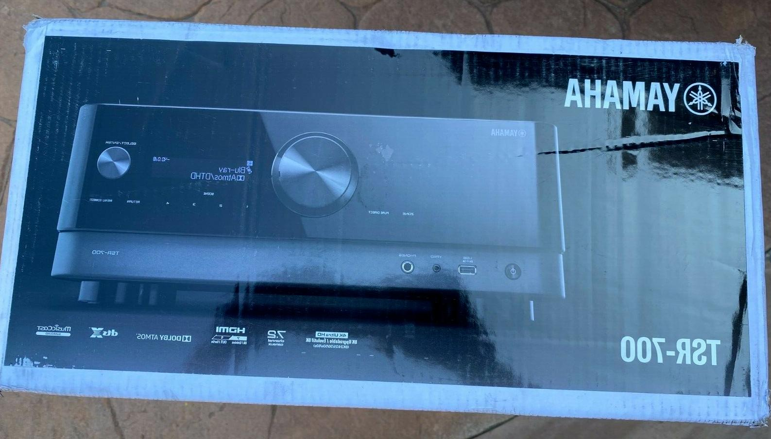 Yamaha TSR-700 Network A/V with 4K HD, HDR10, Dolby