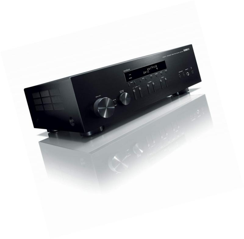 Yamaha R-N303BL Stereo Receiver with Wi-Fi Phono