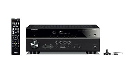 Yamaha RX-V485BL 4K Ultra Receiver with