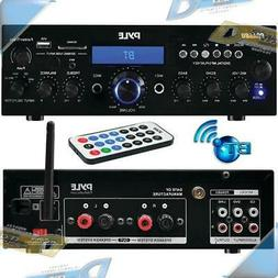 NEW Pyle 200-Watt Wireless B/T+ Stereo Amp Receiver with USB