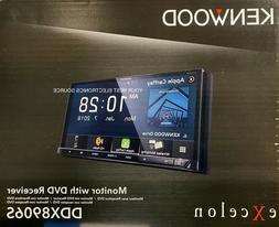 """NEW Kenwood DDX8906S 6.95"""" WVGA DVD Apple CarPlay, Android A"""