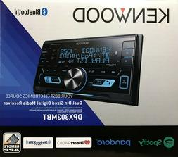 NEW Kenwood DPX303MBT 2-DIN Bluetooth Car Stereo CD/USB/MP3