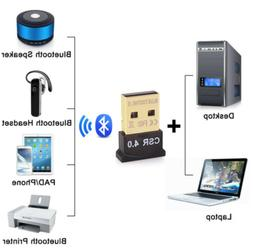 New Mini USB Bluetooth Adapter CSR Dual Mode Receiver for Wi
