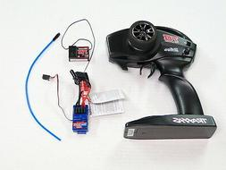 **NEW TRAXXAS TQ 2.4ghz 2 Channel Radio System & Receiver +E