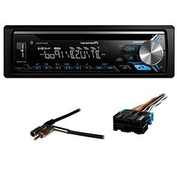 Pioneer DEH-X3900BT Single DIN Bluetooth In-Dash CD/AM/FM Ca