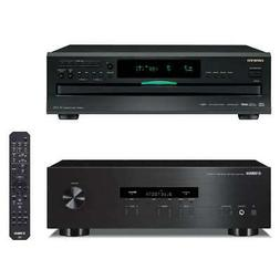 Yamaha R-S202 Stereo Receiver and Onkyo DX-C390 6-Disc Carou