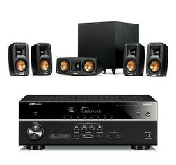 Klipsch Reference Theater Pack 5.1 w/Yamaha RXV485 5.1ch Rec