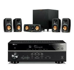 Klipsch Reference Theater Pack 5.1 w/Yamaha RXV385 5.1ch Rec