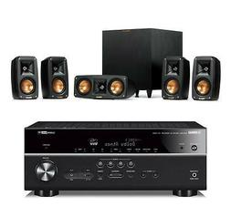 Klipsch Reference Theater Pack 5.1 w/Yamaha RXV685 7.2ch Rec