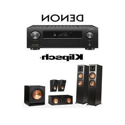 Klipsch RP-6000F 5.1 Home Theater System with Denon AVR-X450