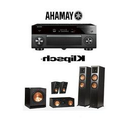Klipsch RP-6000F 5.1 Home Theater System with Yamaha AVENTAG