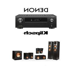 Klipsch RP-6000F 7.1 Home Theater System with Denon AVR-X450
