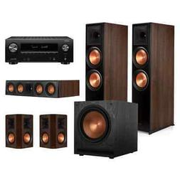 Klipsch RP-8000F 5.1 Home Theater System with Denon AVRX2500