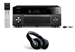 Yamaha RX-A2060 Network AV Receiver and Yamaha PRO-400 Headp