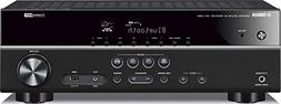 Yamaha RX-V383BL 5.1-Channel 4K Ultra HD AV Receiver with Bl