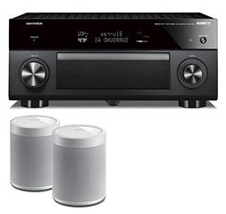 Yamaha RXA2080 9.2-Channel AV Network Receiver Bundle with Y