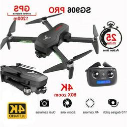 SG906 PRO GPS RC Drone W/Camera 4K 5G Wifi 2Axis Quadcopter