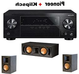 Pioneer Surround Sound A/V Receiver - Black  + Klipsch RB-51