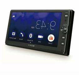 "Sony 6.4"" Touchscreen Double Din Bluetooth Car Audio Media R"