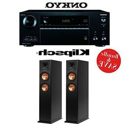 Onkyo TX-NR656 7.2 Channel Network A/V Receiver +  Pair of K