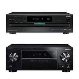 Pioneer VSX-532 5.1-Channel AV Receiver with Onkyo DXC-390 6