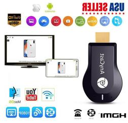WiFi Display Dongle Receiver 1080P HDMI TV AnyCast M2/M4/M9P