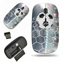 MSD Wireless Mouse 2.4GHz USB Receiver for PC Laptop Mac Soc