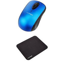 AmazonBasics Wireless Mouse with Nano Receiver and Mini Gami